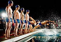 Männer im Wasser - Produktdetailbild 1