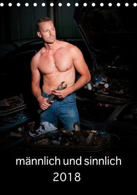 männlich und sinnlich (Tischkalender 2019 DIN A5 hoch), Peter Werner, Peter Werner / Wernerimages