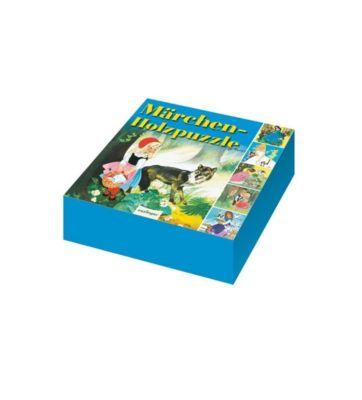 Märchen Holzpuzzle (Würfelpuzzle)