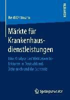 Märkte für Krankenhausdienstleistungen, Heidi Dittmann