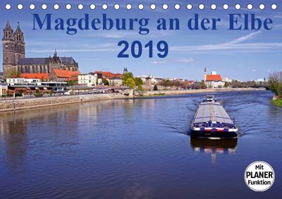 Magdeburg an der Elbe 2019 (Tischkalender 2019 DIN A5 quer), Beate Bussenius