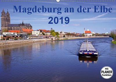Magdeburg an der Elbe 2019 (Wandkalender 2019 DIN A2 quer), Beate Bussenius