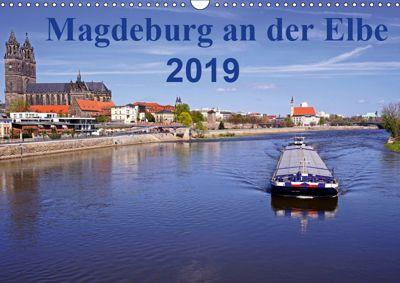 Magdeburg an der Elbe 2019 (Wandkalender 2019 DIN A3 quer), Beate Bussenius