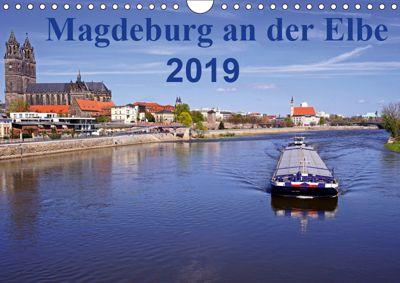Magdeburg an der Elbe 2019 (Wandkalender 2019 DIN A4 quer), Beate Bussenius