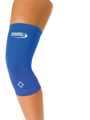 Magic Copper Knie-Bandage blau, Gr. S