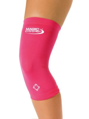 Magic Copper Knie-Bandage pink, Gr. S