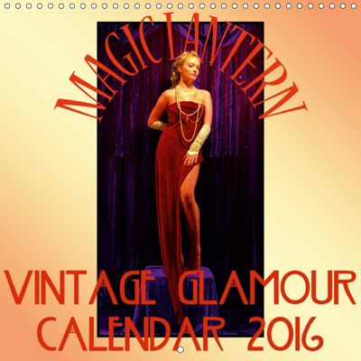 Magic Lantern Studio Vintage Glamour Calendar 2019 (Wall Calendar 2019 300 × 300 mm Square), Magic Lantern Studio