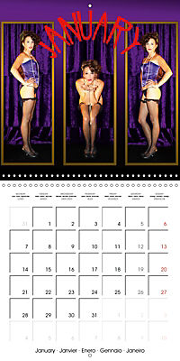 Magic Lantern Studio Vintage Glamour Calendar 2019 (Wall Calendar 2019 300 × 300 mm Square) - Produktdetailbild 1