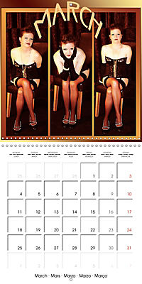 Magic Lantern Studio Vintage Glamour Calendar 2019 (Wall Calendar 2019 300 × 300 mm Square) - Produktdetailbild 3