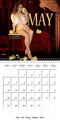 Magic Lantern Studio Vintage Glamour Calendar 2019 (Wall Calendar 2019 300 × 300 mm Square) - Produktdetailbild 5