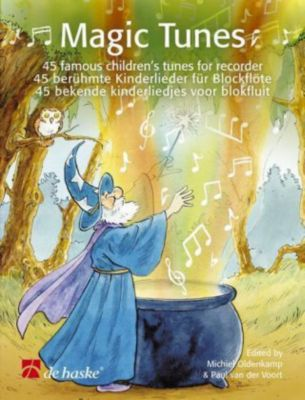 Magic Tunes, für Blockflöte, m. Audio-CD, Michiel Oldenkamp, Paul VanderVoort