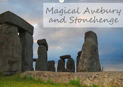 Magical Avebury and Stonehenge (Wall Calendar 2019 DIN A3 Landscape), Manuela Tollerian-Fornoff