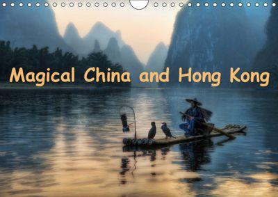 Magical China and Hong Kong (Wall Calendar 2019 DIN A4 Landscape), Adam Jurgilewicz