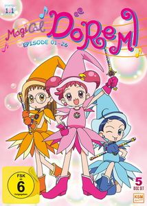 Magical Doremi, Episode 01-26, Bree Sharp, Takashi Yamada