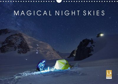 Magical Night Skies (Wall Calendar 2019 DIN A3 Landscape), Lumi Toma