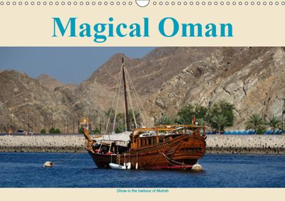 Magical Oman UK Version (Wall Calendar 2019 DIN A3 Landscape), Juergen Woehlke