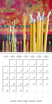 Magical Vietnam (Wall Calendar 2019 300 × 300 mm Square) - Produktdetailbild 1