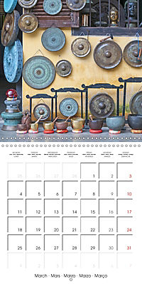 Magical Vietnam (Wall Calendar 2019 300 × 300 mm Square) - Produktdetailbild 3