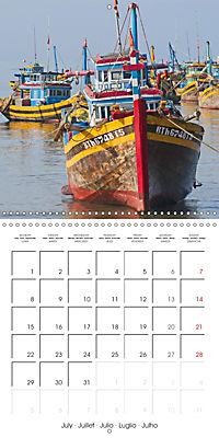 Magical Vietnam (Wall Calendar 2019 300 × 300 mm Square) - Produktdetailbild 7