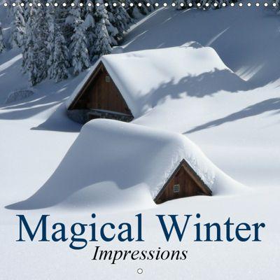 Magical Winter Impressions (Wall Calendar 2019 300 × 300 mm Square), Elisabeth Stanzer