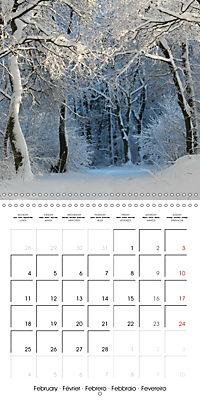 Magical Winter Impressions (Wall Calendar 2019 300 × 300 mm Square) - Produktdetailbild 2