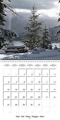 Magical Winter Impressions (Wall Calendar 2019 300 × 300 mm Square) - Produktdetailbild 5
