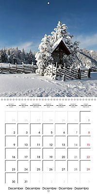 Magical Winter Impressions (Wall Calendar 2019 300 × 300 mm Square) - Produktdetailbild 12