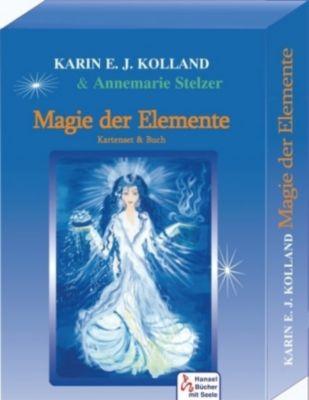 Magie der Elemente, Buch u. Meditatonskarten, Karin E. J. Kolland, Annemarie Stelzer