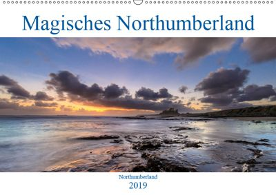 Magisches Northumberland (Wandkalender 2019 DIN A2 quer), Olaf Edler