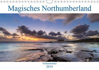 Magisches Northumberland (Wandkalender 2019 DIN A4 quer), Olaf Edler