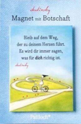 Magnet mit Botschaft: Folge deinem Herzen!, Dodinsky