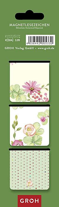 Magnetlesezeichen -  Ein Buch ist wie ein Garten, den man in der Tasche trägt. - Produktdetailbild 1