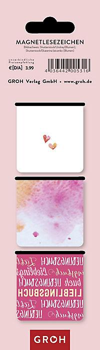 Magnetlesezeichen Lieblingsbuch - Produktdetailbild 1