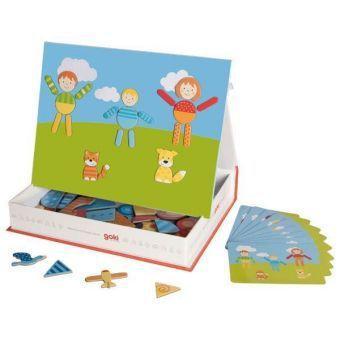 Magnetspiel Create your world (Kinderspiel), goki