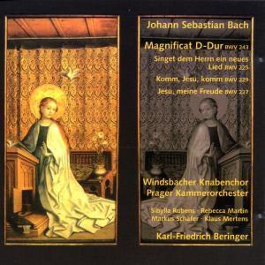 Magnificat Bwv 243/Motetten Bwv 225,227,, Windsbacher, M. Schäfer, Mertens