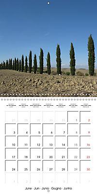 Magnificent Tuscan landscapes (Wall Calendar 2019 300 × 300 mm Square) - Produktdetailbild 6