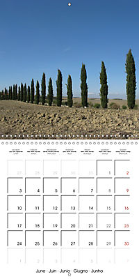 Magnificent Tuscan landscapes (Wall Calendar 2019 300 × 300 mm Square) - Produktdetailbild 6