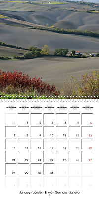 Magnificent Tuscan landscapes (Wall Calendar 2019 300 × 300 mm Square) - Produktdetailbild 1