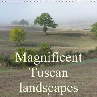 Magnificent Tuscan landscapes (Wall Calendar 2019 300 × 300 mm Square), Monika Dietsch
