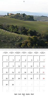 Magnificent Tuscan landscapes (Wall Calendar 2019 300 × 300 mm Square) - Produktdetailbild 4