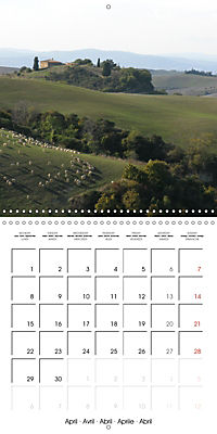 Magnificent Tuscan landscapes (Wall Calendar 2019 300 × 300 mm Square) - Produktdetailbild 4