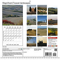Magnificent Tuscan landscapes (Wall Calendar 2019 300 × 300 mm Square) - Produktdetailbild 13