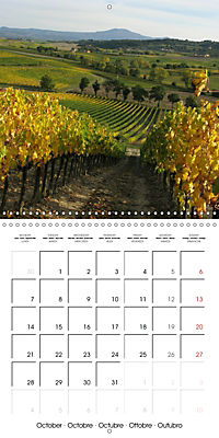 Magnificent Tuscan landscapes (Wall Calendar 2019 300 × 300 mm Square) - Produktdetailbild 10