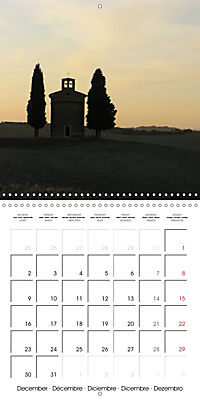 Magnificent Tuscan landscapes (Wall Calendar 2019 300 × 300 mm Square) - Produktdetailbild 12