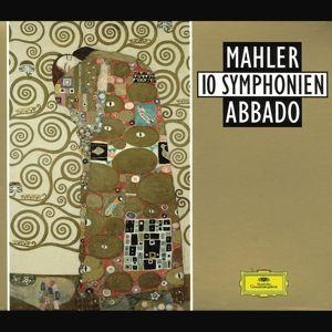 Mahler: 10 Symphonies, Claudio Abbado, Bp, Wp, Cso