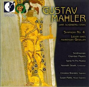 Mahler/Sinfonie 4, Brandes, Platts, Slowik, Smithonian Chamber Players