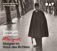 Maigret im Haus des Richters, 4 Audio-CDs, Georges Simenon