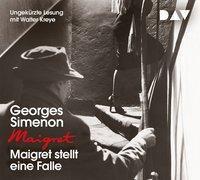 Maigret stellt eine Falle, 4 Audio-CDs, Georges Simenon