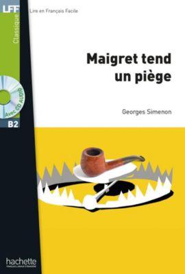 Maigret tend un piège, m. Audio-CD, Georges Simenon