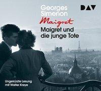 Maigret und die junge Tote, 4 Audio-CDs, Georges Simenon